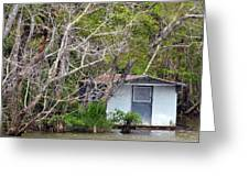 A Cozy Spot On The Apalachicola River Greeting Card