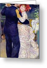 A Dance In The Country Greeting Card