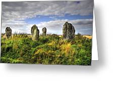 Song Of The Stones Greeting Card