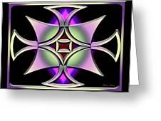 A Dark Splash Of Color 41 Greeting Card