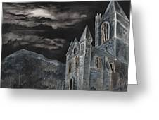 A Dark Strange Night  Greeting Card