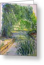 A Day At Giverny Greeting Card