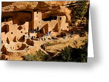 A Day At Mesa Verde Greeting Card