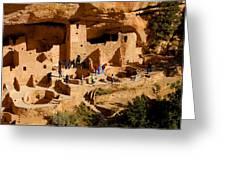A Day At Mesa Verde Greeting Card
