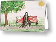 A Day At The Park Greeting Card