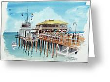 A Day At The Shore Greeting Card