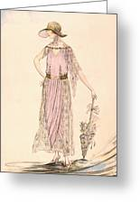 A Day Dress Greeting Card