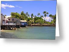 A Day In Lahaina Greeting Card