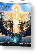 A Day Of Prayer For The Gulf Greeting Card