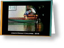 A Day On The Water Greeting Card