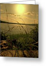 A Distant Shore Greeting Card
