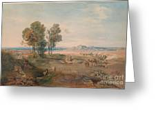 A Distant View Of Athens Greeting Card