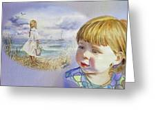 A Dream Of An Ocean Greeting Card