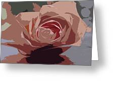 A Dusty Rose-d Greeting Card