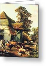 A Farm In Kent Greeting Card