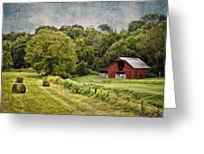 A Farmer's Pride Greeting Card by Elizabeth Wilson
