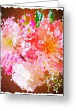 A February Abstract Greeting Card