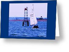 A Fine Day For A Sail Greeting Card