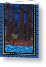 A Forest Whispers Greeting Card