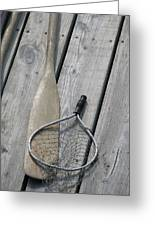 A Fisherman's Tools Greeting Card