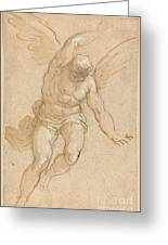 A Flying Angel Greeting Card