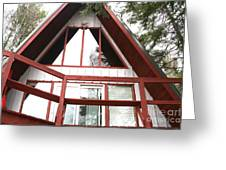A-frame Greeting Card