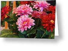 A Fresh Bouquet Greeting Card