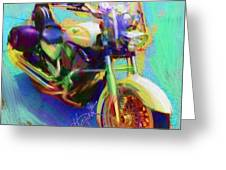 A Friends Ride Greeting Card