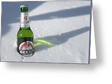 A Frosty Beck's Greeting Card