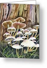 A Fungus Amongus Greeting Card