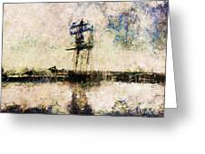 A Gallant Ship Greeting Card