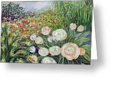 A Garden Romance Greeting Card