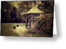A Garden Somewhere Greeting Card