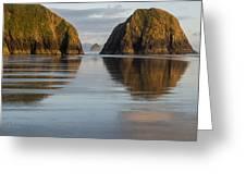 A Glossy Beach Greeting Card