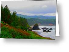 A Glimpse Of Oregon Greeting Card