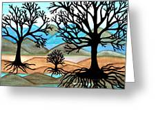 A Good Foundation Greeting Card by Connie Valasco
