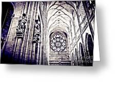 A Gothic Church Greeting Card