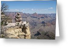 Grand Canyon Viewpoint Greeting Card