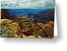 A Grand View Greeting Card