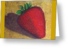 A Great Big Strawberry Greeting Card