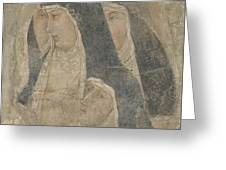 A Group Of Poor Clares Greeting Card