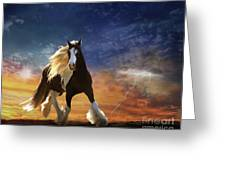 A Gypsy Storm Greeting Card