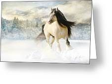 A Gypsy Winter Journey Greeting Card