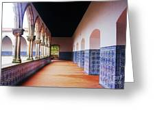 A Hall With History Greeting Card