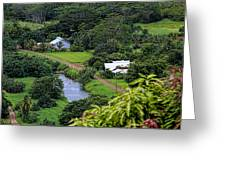 A Hanalei View Greeting Card