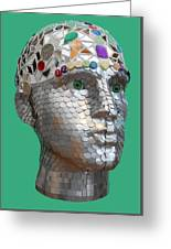 A Head Full Of Shattered Dreams Greeting Card