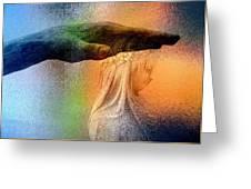 A Healing Hand Greeting Card