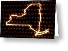 A Heart In New York Greeting Card