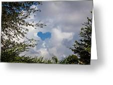 A Heart In The Sky Greeting Card