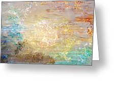 A Heart So Big - Custom Version 4 - Abstract Art Greeting Card